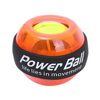 🔝 Тренажер для рук Powerball (Пауерболл) WristBall - оранжевый, кистевой тренажер, с доставкой по Киеву, Украине   🎁%🚚