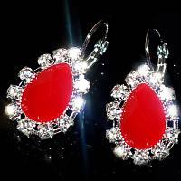 Сережки Мінні, (білі, червоні, рожеві, фіолетові), фото 1