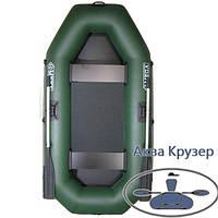 Лодка надувная omega пвх Ω 250 L ( гребная двухместная лодка без слани), фото 1