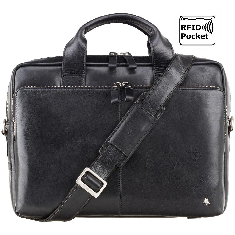 Качественная сумка для документов Visconti ML31 Black (Великобритания)