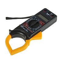 Токовые клещи DT-266 Digital Clamp Meter, мультиметр, Черный, с доставкой по Киеву и Украине, фото 1
