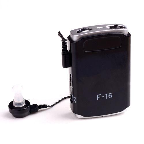 Усилитель слуха, Аксон, Axon, цвет - черный, axon f 16, слуховой апарат