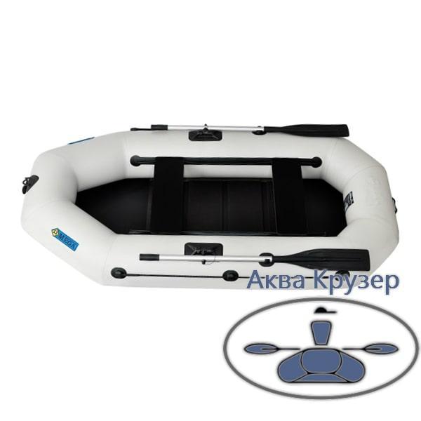 Човен omega пвх Ω 250 LS (PS) ( гребний надувна двомісна човен c рухомими сидіннями + слань )