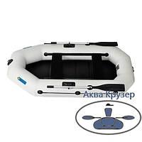 Човен omega пвх Ω 250 LS (PS) ( гребний надувна двомісна човен c рухомими сидіннями + слань ), фото 1