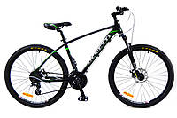 Горный велосипед Benetti ALTO DD 26'' черно-зеленый ХАРДТЕЙЛ
