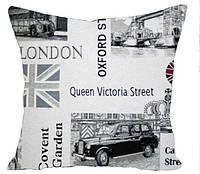 Декоративная подушка Лондон (гобелен)