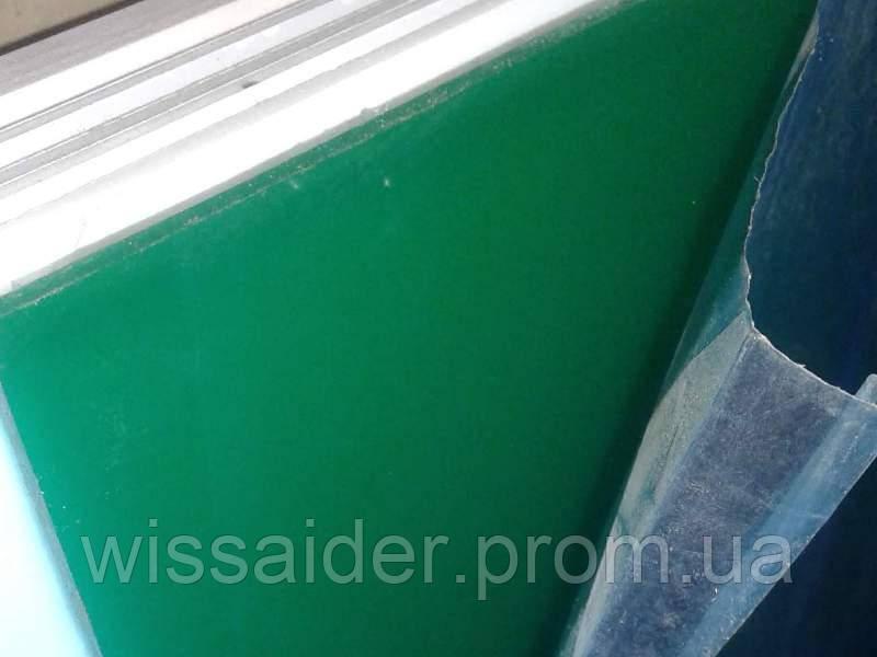 Листовой акрил (оргстекло) зелёный. экструзия. 3,0 мм. (1023мм х 1523мм = 1,56м2)