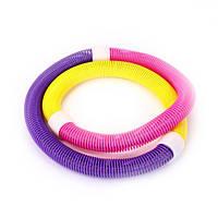 🔝 Гимнастический обруч для талии Hula Hoop, хулахуп для похудения, с доставкой по Киеву и Украине | 🎁%🚚