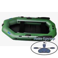 Двомісна човен пвх Omega Ω 250 LST (PS) (надувний човен з навісним транцем, з рухомими сидіннями + слань), фото 1