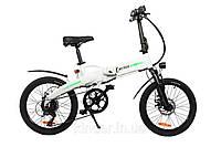Электровелосипед складной E-MOTION белый
