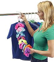 🔝 Органайзер, для хранения носков, Sock Dock, подвесной, для шкафа   🎁%🚚