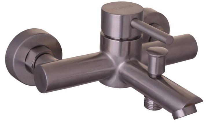 Смеситель для ванны Globus Lux НЕРЖАВЕЙКА SBT1-102, душевой комплект, фото 2
