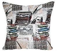 Декоративная подушка Библиотека