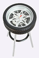 Стул-шина с часамиTire-Stool Clock