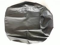 Чехол сиденья HONDA DIO AF-27/28 темно-серый, серый кант JOHN DOE