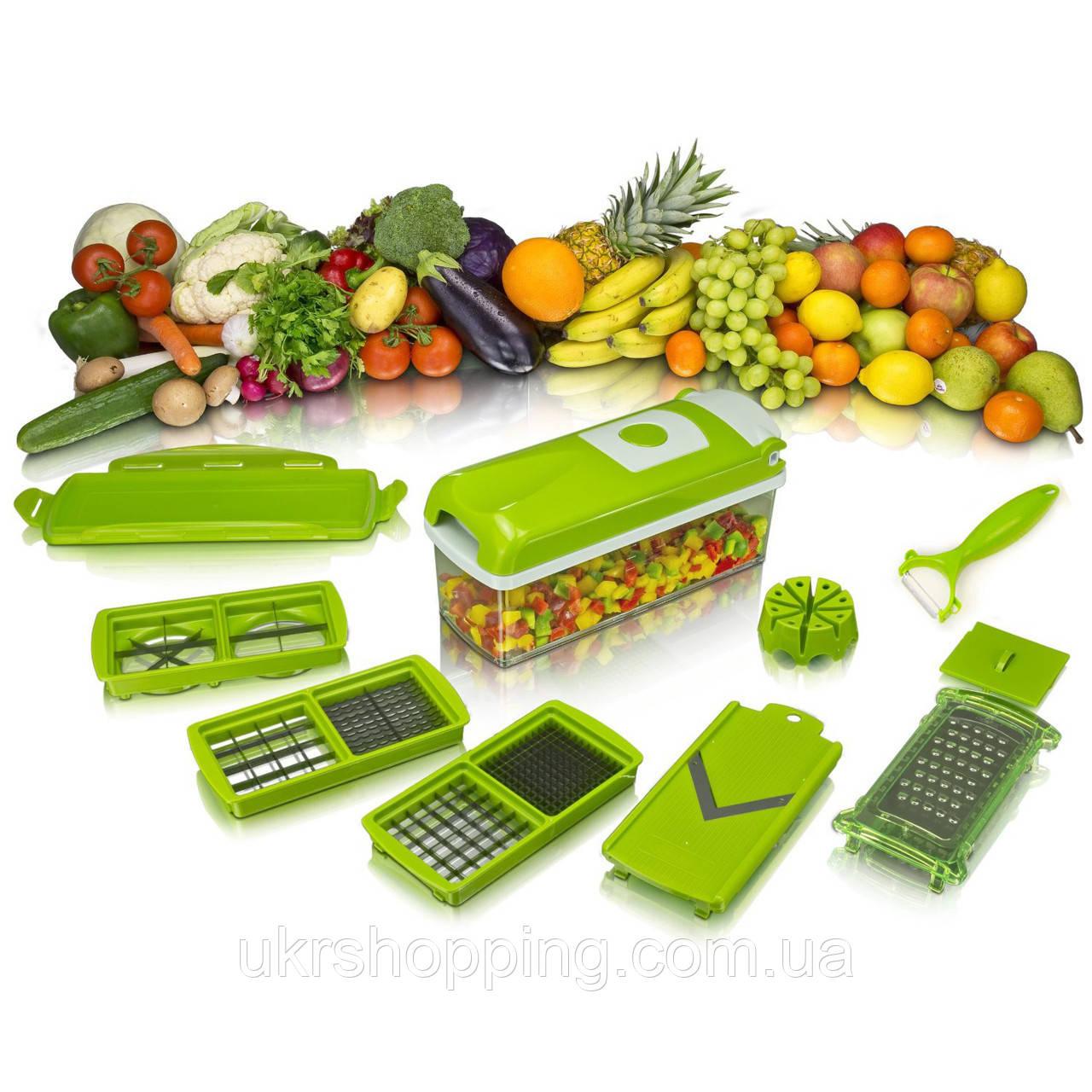✅ Многофункциональная овощерезка, слайсер, Nicer Dicer plus, кухонная терка