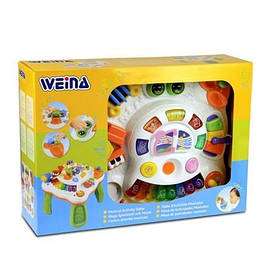 Музыкальный игровой столик Weina (2092)