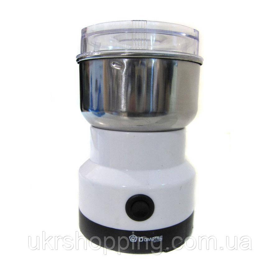 Электрическая кофемолка, импульсная, Domotec MS 1106, для кофе и специй