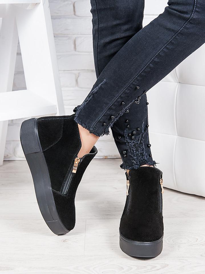 Ботинки замшевые Корнелия 6861-28