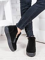 Ботинки замшевые Корнелия 6861-28, фото 1