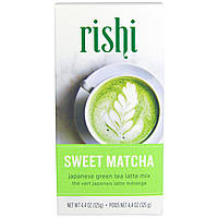 Rishi Tea, Японский зеленый чай, сладкий маття, 4.4 унций (125 г)