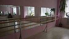 Станок хореографический (балетный) нержавеющий крепеж в пол, фото 2