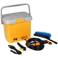 🔝 Автомобильная минимойка, от прикуривателя, High Pressure Portable Car Washer, портативная   🎁%🚚, фото 1