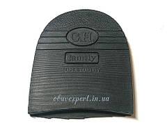 Набойка резиновая для обуви G.H., цв. черный