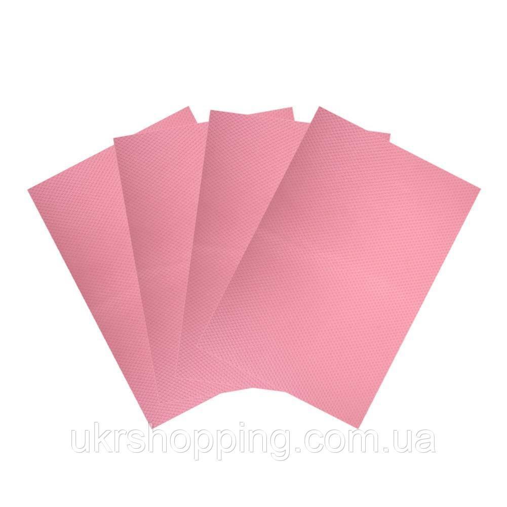 🔝 Антибактериальные коврики для холодильника, 4 шт. - розовые | 🎁%🚚