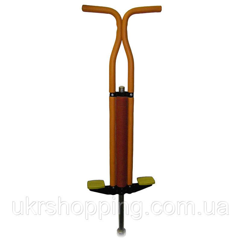🔝 Pogo Stick,прыгалка-кузнечик для детей Пого Стик - красно-оранжевый, джампер, с доставкой по Украине | 🎁%🚚