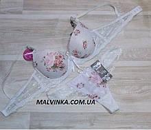 Комплект жіночої білизни арт 70453 білий 80В