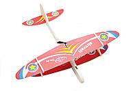 🔝 Метательный планер, самолет детский, на USB Aircraft, цвет - красный, самолёт из пенопласта | 🎁%🚚, фото 1