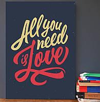 """Постер на стену """"Все что нужно"""" 30х42 см (А3 формат)"""