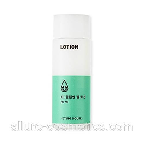 Лосьон для проблемной кожи лица Etude House AC Clean Up Gel Lotion 30мл