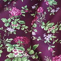 37020 Шарм. Натуральный хлопок для шитья летнего платья и рукоделия. Цветочный принт.