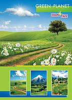 Тетрадь А5 обложка цветная ламинированная 160 лист