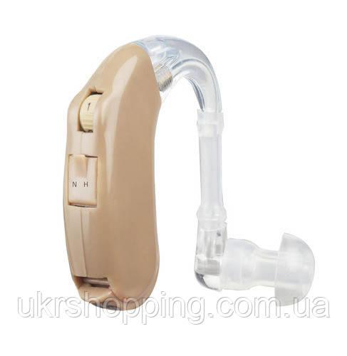 🔝 Заушный слуховой аппарат, Axon F-135, усилитель слуха, (доставка по Украине) | 🎁%🚚