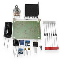 Радиоконструктор Регулируемый стабилизатор напряжения на  LM317