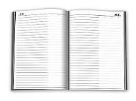 Ежедневник А6 не датированный обложка цветная ламинированная 192 лист