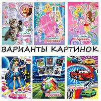 Дневник (украинский) СУПЕР обложка сендвич 48 лист