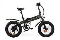 Электровелосипед складной E-MOTION черный