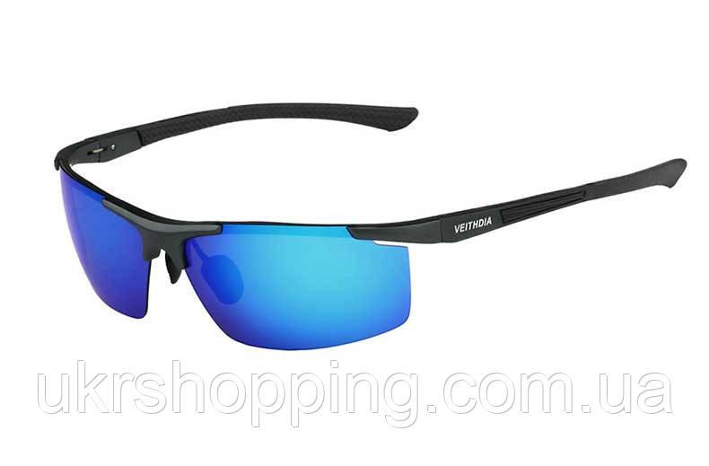 Поляризованные очки, солнцезащитные, Veithdia - синие линзы