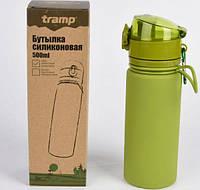 Пляшка силіконова Tramp 500 мл olive (Артикул TRC-093-olive)