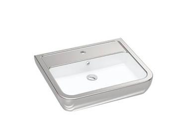 Умывальник Idevit Halley 60 см 3201-0455-12 серебро