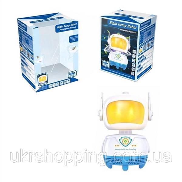 🔝 Антимоскитная лампа, уничтожитель насекомых, Robot Mosquito lamp, лампа от комаров | 🎁%🚚