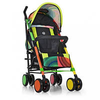 Коляска детская, прогулочная, COLORITO, трость, колеса, радуга, ME1035