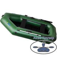 Двомісна пвх omega Ω 260 LS (PS) ( гребний човен надувний з рухомими сидіннями + слань)
