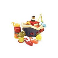 Игровой набор - ЛОВИСЬ, РЫБКА, для игры в ванной, 12 аксессуаров, Battat, BX1012Z