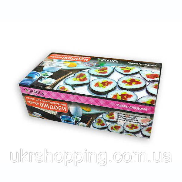 🔝 Набор для приготовления суши и роллов 5 в 1 Мидори, в домашних условиях | все для суши по Украине | 🎁%🚚