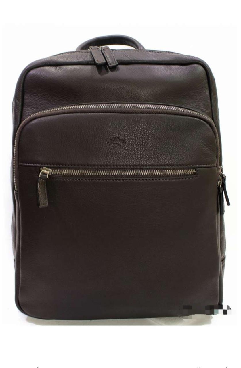 Мужской кожаный рюкзак катана